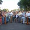 Inauguración del pavimento en Bº Güemes