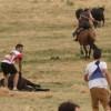 Joven robo un caballo y escapaba al galope