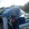 Jovenes aprehendido con pedido de captura