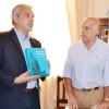 Passaglia recibió al presidente de la cámara de diputados