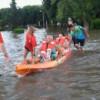 Cruz Roja Filial San Nicolás  trabajando en las comunidades afectadas