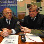 Pasaglia y el presidente de la federacion