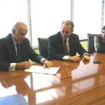 Campos Salles, gas natural convenio