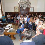 Passaglia y 17 comisiones vecinales