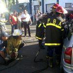 Choque en Moreno y León Guruciaga San Nicolás-20140117-00409