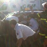 Choque en Moreno y León Guruciaga San Nicolás-20140117-00410