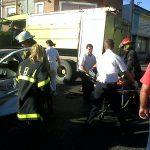 Choque en Moreno y León Guruciaga San Nicolás-20140117-00418