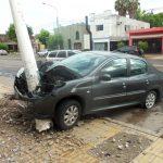 Choque en Savio y Benitez - 3 10 de Enero