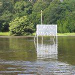 Erezcano inundado