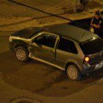 Choque en Savio y Pellegrini - 27 de Marzo