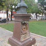 Vandalismo en la Plaza Mitre - 10 de Mayo  IMG_4043